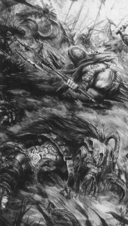 Warhammer Lizardmen Jungle Swarm Art