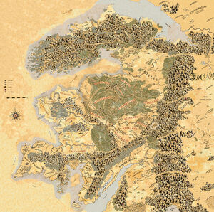 Map The Old World 7 Color