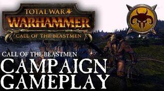 Total War WARHAMMER - Beastmen Campaign Gameplay Walkthrough