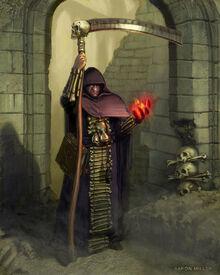 Amethyst Wizard Warhammer by aaronmiller