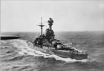 HMS Revenge WWII IWM CH 823