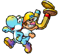 Baby Wario Artwork (Yoshi's Island DS)
