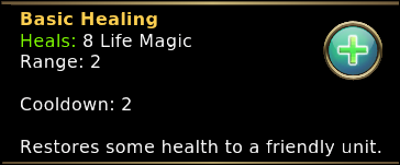 Y Basic Healing