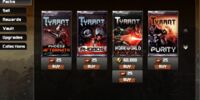 Tyrant/Card Packs