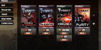 Tyrant/Card Packs