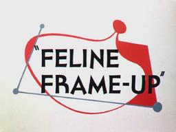 Feline Frame-Up Title Card