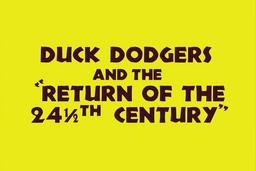 Duck Dodgers 2 Title Card