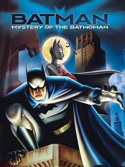 Batman-Mystery of the Batwoman poster