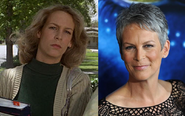 Jamie Lee Curtis--Then and Now