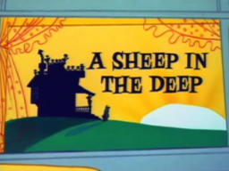 A Sheep in the Deep Title Card