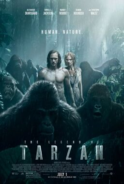 The Legend of Tarzan poster