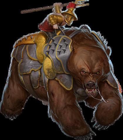File:War of Mercenaries Bear stages.png