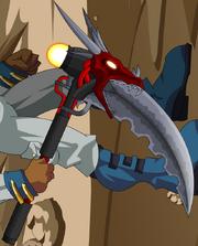 Parching Dragon Scythe