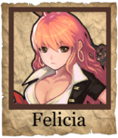 Felicia Musketeer Poster