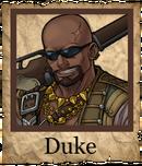 Duke Musketeer Poster