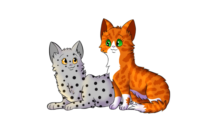 File:Redclaw and feathertail by dapplefrost02-d78617a (1).png
