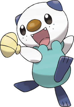 Official Artwork Oshawott