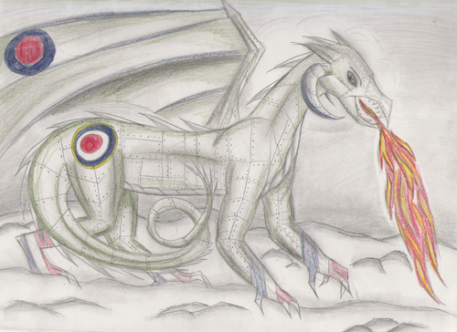 Spitfire Drawing