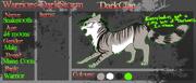 Darkclan blank application sheet by retisha-d60pbee