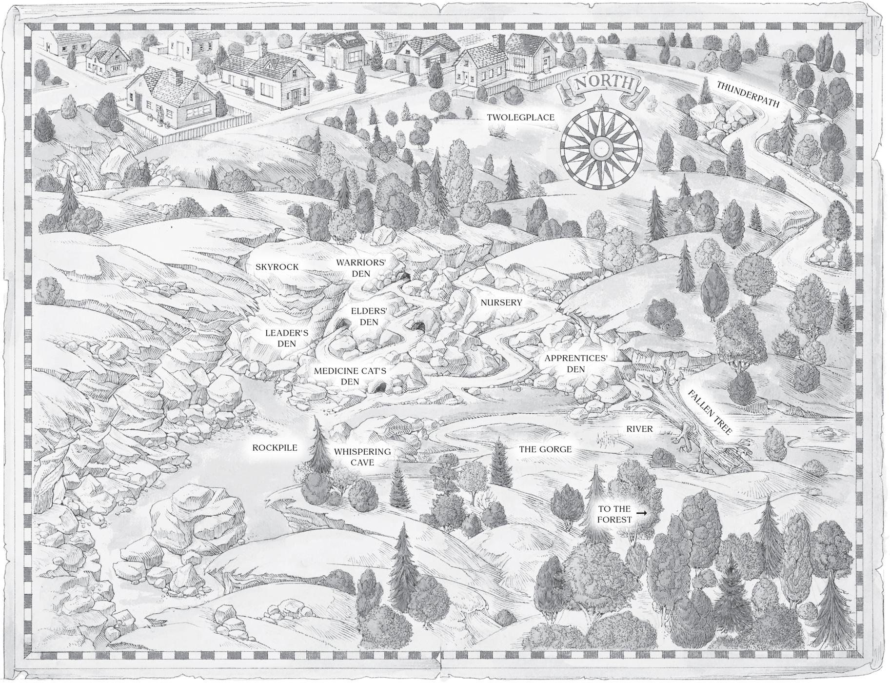 Skyclan Map