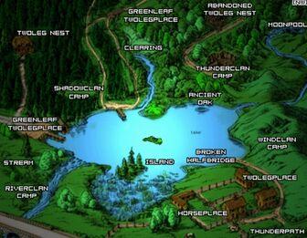 Lake Map (lostclan)