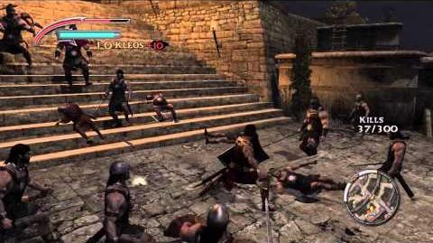 Warriors Legends of Troy - Aeneas gameplay