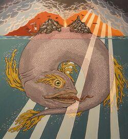 Jasconius Iasconius island fish monster beast creature animal