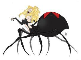 Evil spinnerette alternate costume by krazykrow-d8dt70n (EDIT)