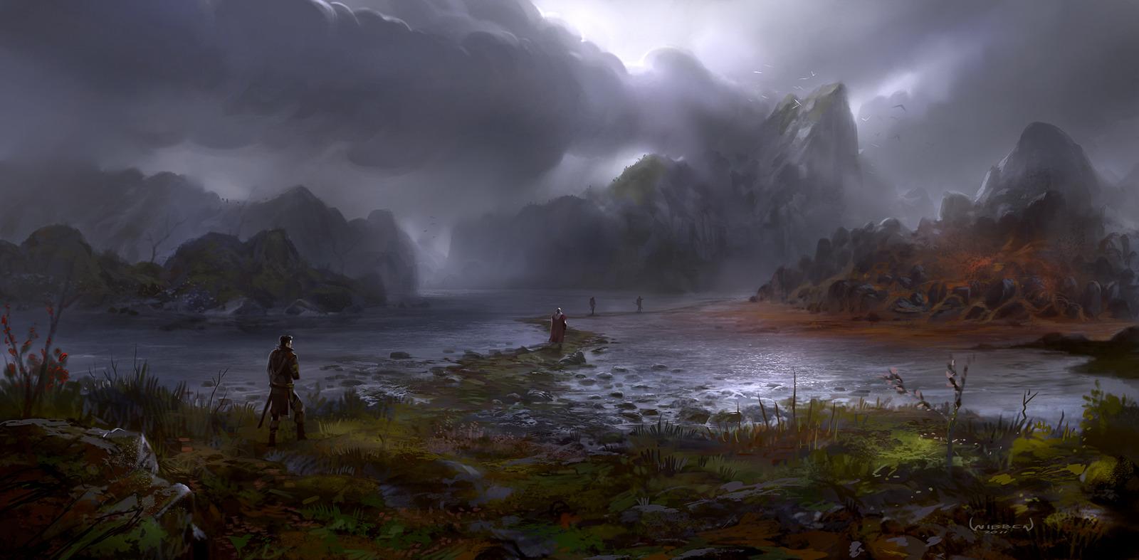 Fantasy war landscape - photo#25