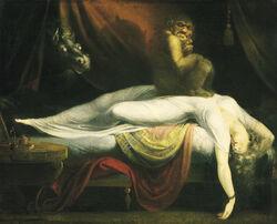 John Henry Fuseli - The Nightmare-1-