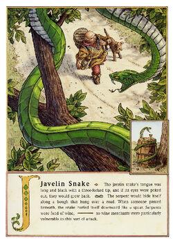 Dbs Jonathan Hunt Bestiary 12 Javelin Snake 800