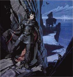 Angus McBride-Lady Of Shadows