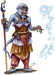 Vanara Disciple of Hanuman