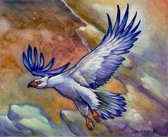 Magic Cloud Eagle by aaronboydarts