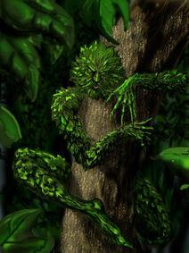 The Green Man by JohnnyMc