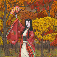 The <i>kijo</i>, Momiji...