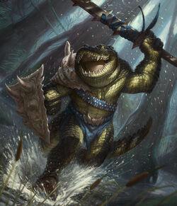 Crocodile warrior by faxtar-d56rria-1-