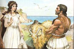 Golden Ram (Golden Fleece, Khrysomallos, Chrysomallos, Chrysomallus)