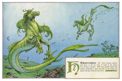 Dbs Jonathan Hunt Bestiary 10 Hippocampus