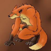 Werefox by Wolfmoon15