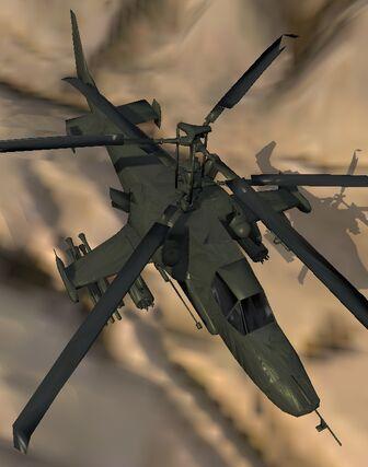 KA-50 Gunship