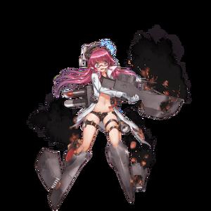 Yubari (r) damaged