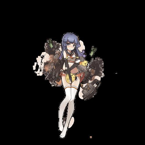 Akizuki damaged