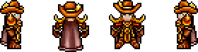 Char exterminators gold hat