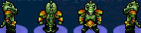Char emerald alligator