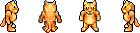 Char red cat