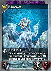 Card lg set8 white hatchling r