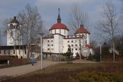 Kościół Władysława z Gielniowa (Park Przy Bażantarni).JPG