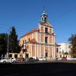 Kościół Narodzenia Najświętszej Maryi Panny (Aleja Solidarności).JPG