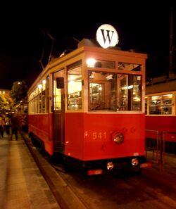 Tramwaj model Lw (Noc Muzeów)
